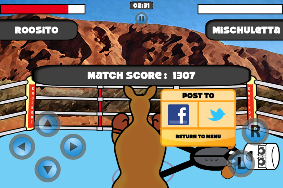 Screenshot Outback Knockout
